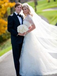 wedding dress - Ivanka Trump