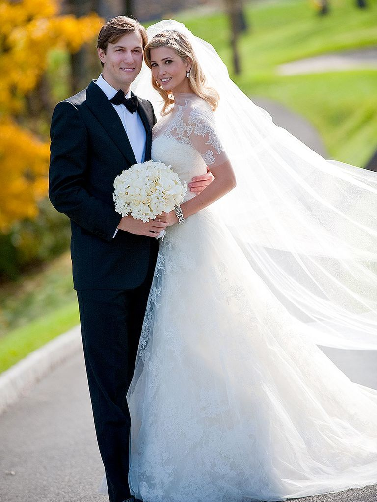 wedding dress - Ivanka Trump