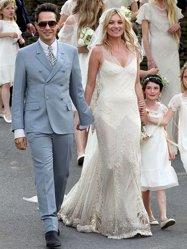 wedding dress- Kate Moss