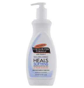Best drugstore beauty products Palmer's body lotion