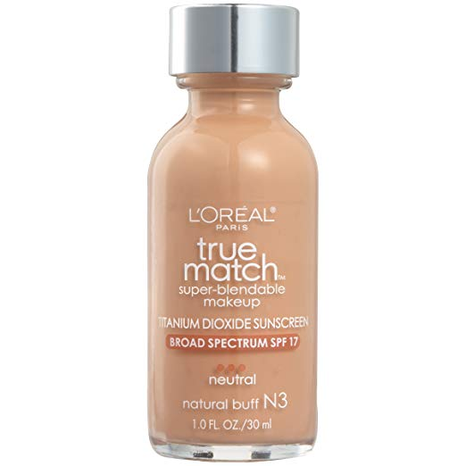 Best drugstore beauty products L'Oreal True Match foundation
