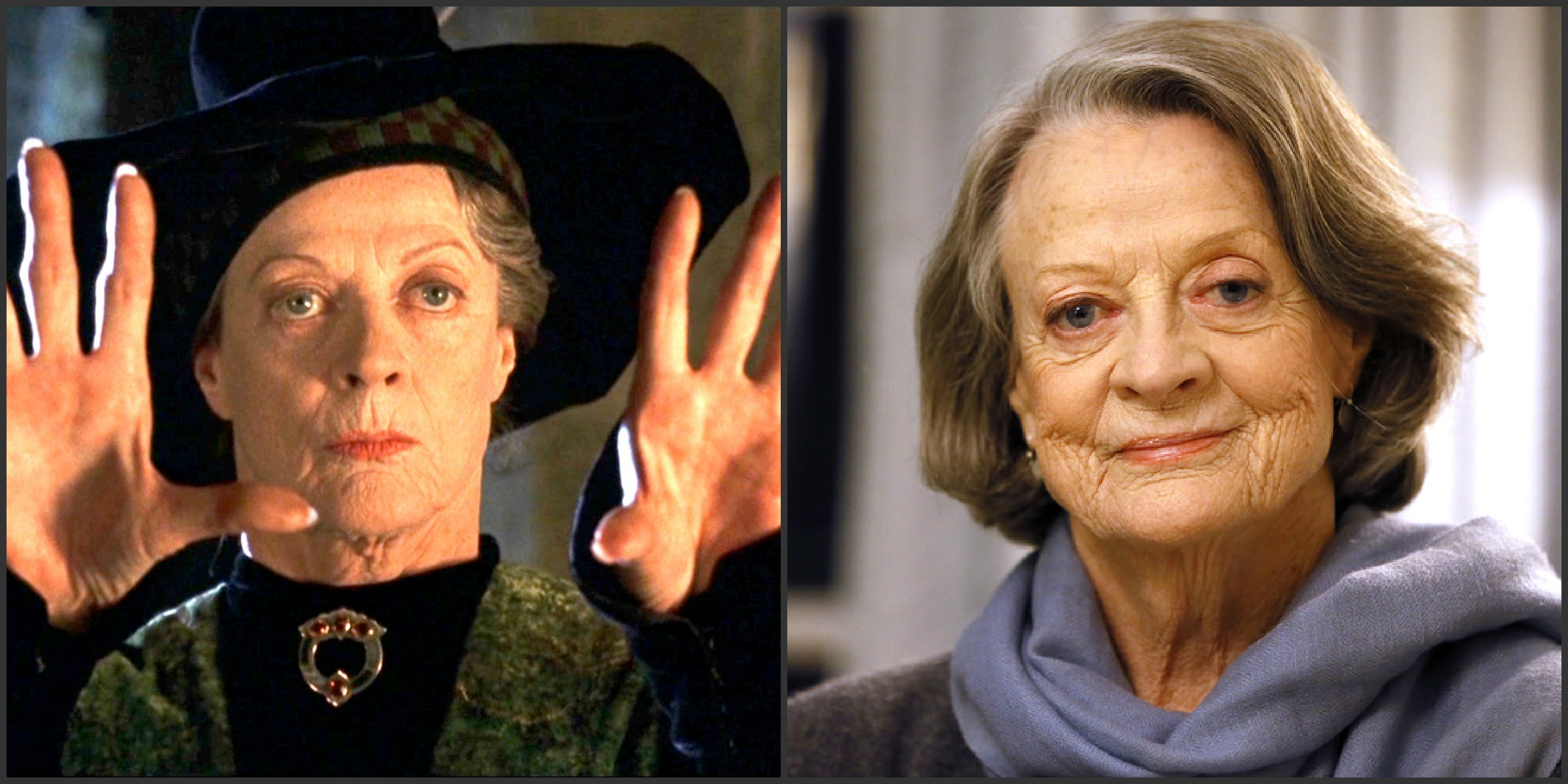 Harry Potter cast now Maggie Smith