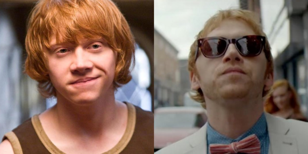 Harry Potter cast now Rupert Grint