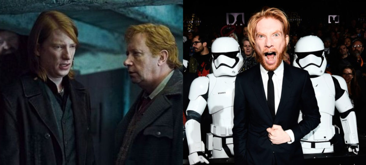 Harry Potter cast now Domhnall Gleeson