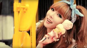 K-pop songs Hyuna Ice Cream