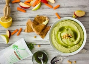 Matcha Green Tea Hummus