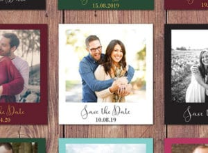 Save The Date Instant Photo - Etsy