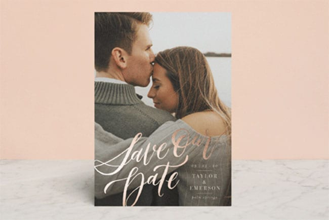 Save The Date - My Forever Love - Minted