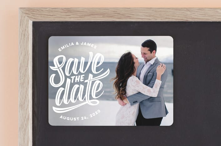 Save The Date Super Scripty - Minted