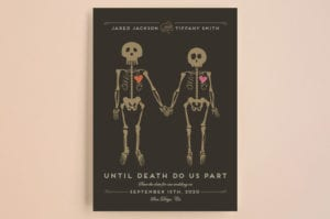 Save The Date Until Death - Minted