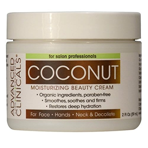 coconut cream As seen on TV beauty products