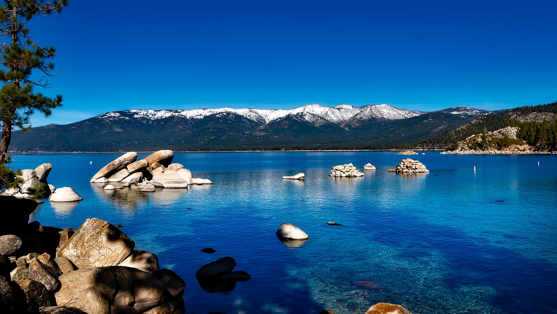 Best American Lakes - Lake Tahoe