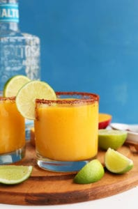 Best Blenders Best Margarita Recipes Mango Chili Lime Margarita The Minimalist Baker