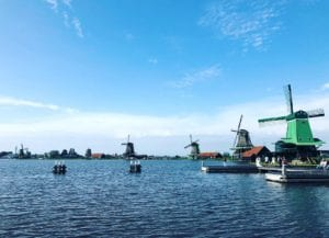 Europe travel in Netherlands