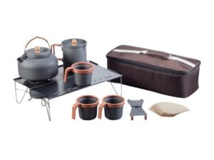 Pure Outdoor Coffee and Tea Set Glamping Essentials