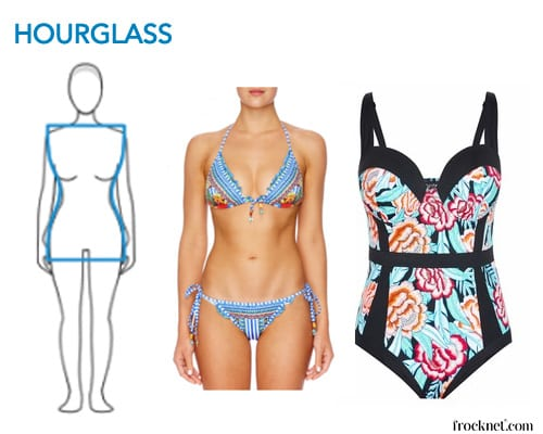 Best Swimsuit Hourglass Body Type