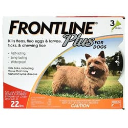 how to get rid of fleas frontline