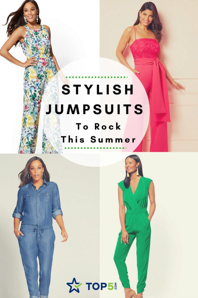 - Stylish Jumpsuits For Woman To Rock This Summer