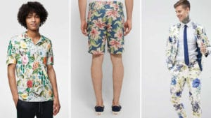 mens floral fashion summer style
