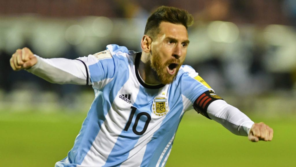 soccer world cup 2018 lionel messi