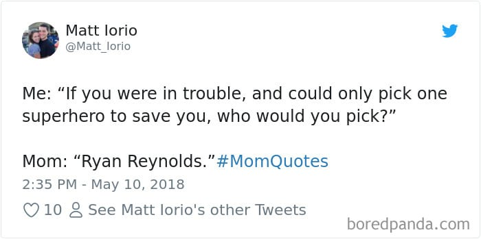 mom quotes ryan reynolds