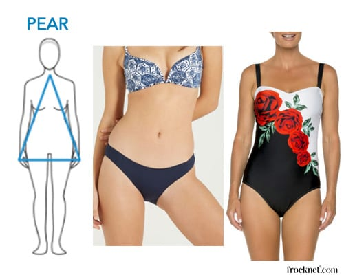best swimsuit pear shape