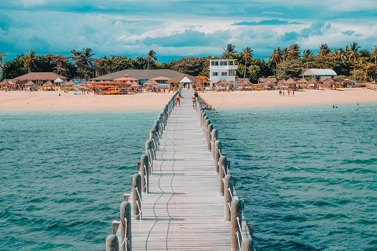 best Philippines Island Hopping bridge over water