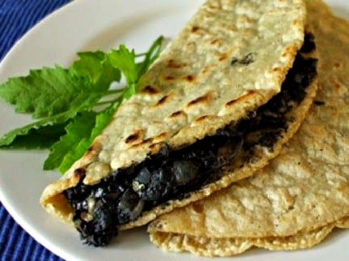 quesadillas huitlacoche mexican interesting food