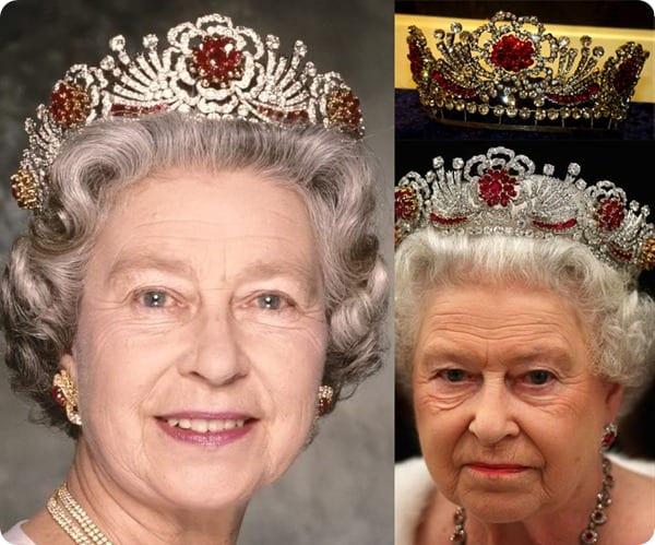 Royal Tiaras Burmese Ruby Tiara