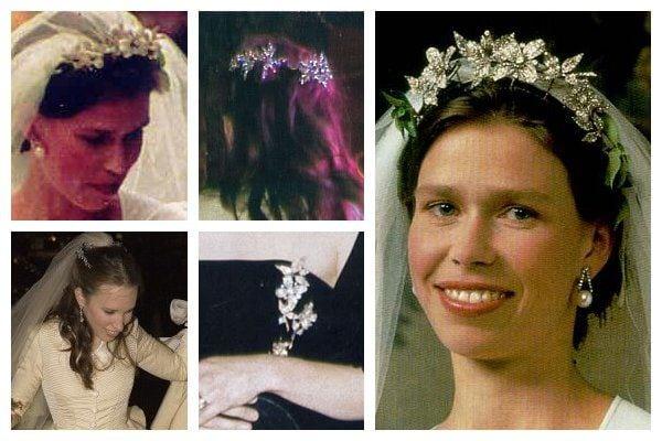 royal tiaras Snowdon Floral Tiara