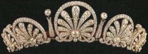 royal tiaras Kinsky Honeysuckle Tiara