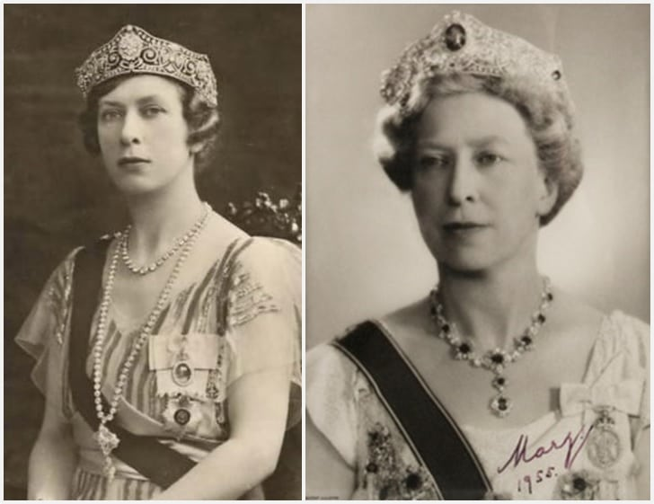 royal tiaras Harewood Scroll