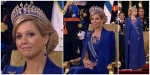 royal tiaras Dutch Sapphire Tiara