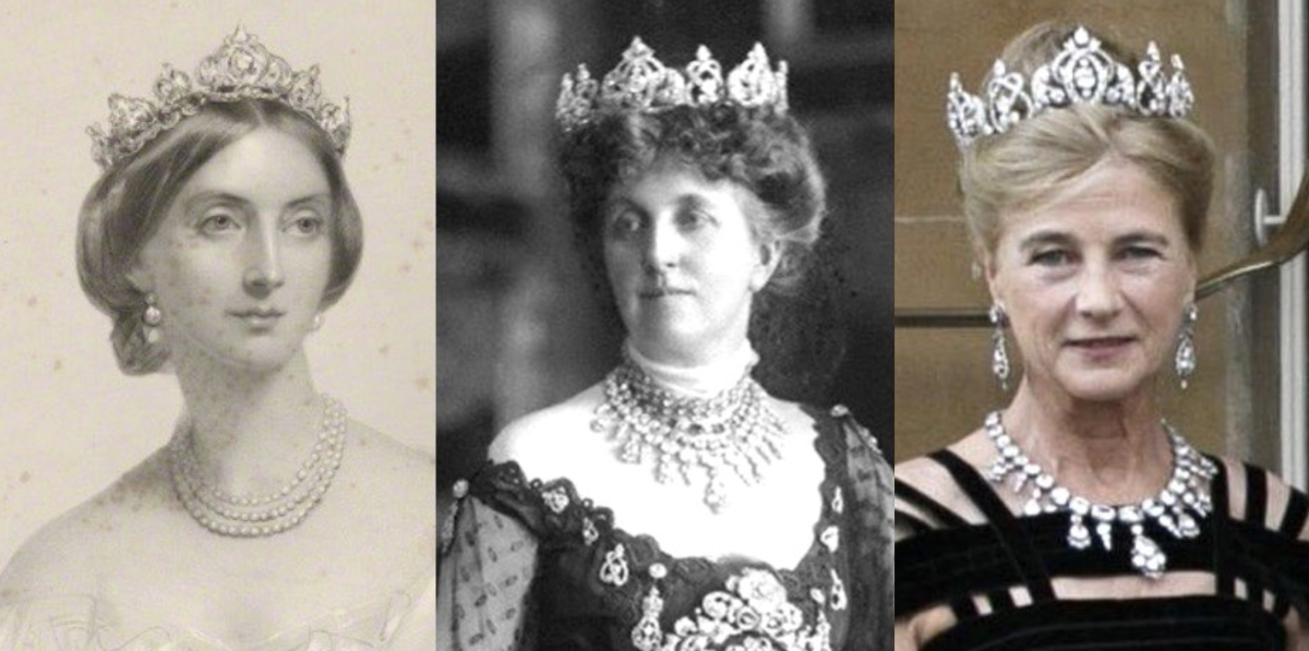 royal tiaras Wellington Tiara