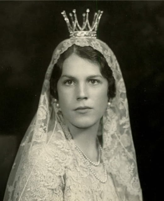 royal tiaras Countess Estelle Bernadotte's Bridal Crown