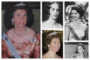 royal tiaras Queen Louise's Diamond Tiara