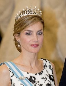 royal tiaras Ansorena Fleur-de-Lys
