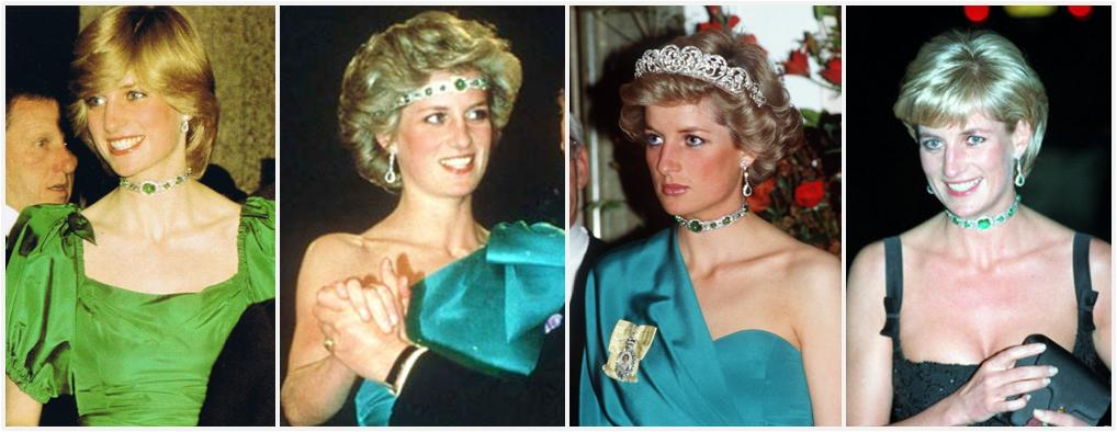royal tiaras Queen Mary's Emerald Choker