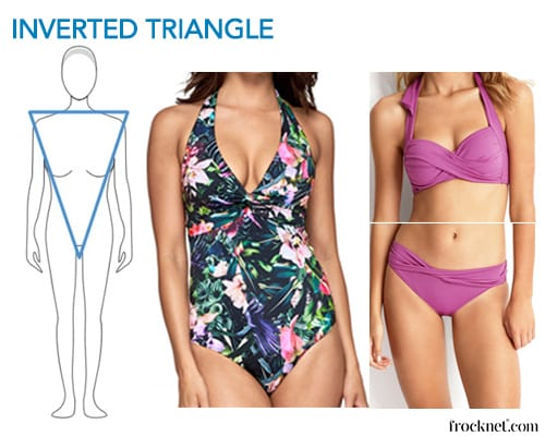 best swimsuit inverted triangle