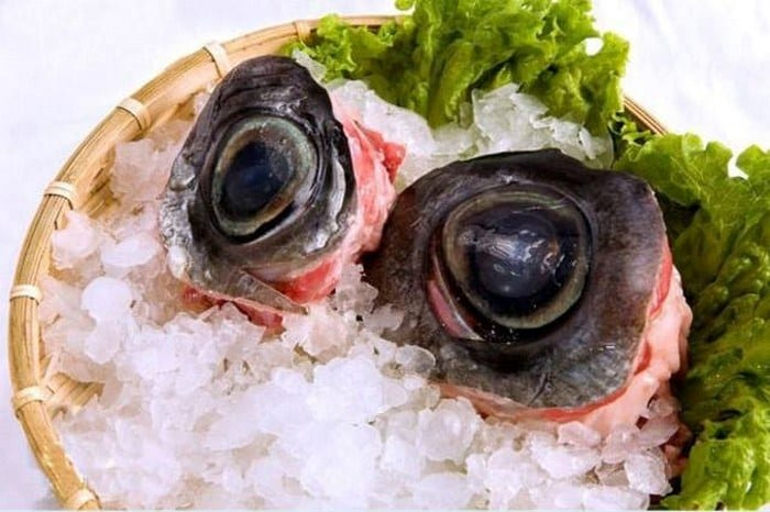 tuna eyes eat this most interesting food