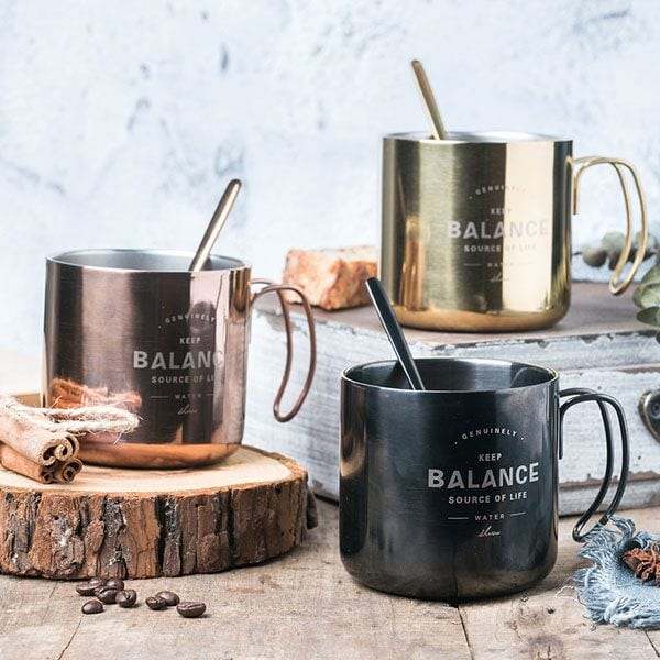 Unique gifts stainless steel mugs