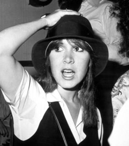 Carrie Fisher - vintage photos of beautiful woman