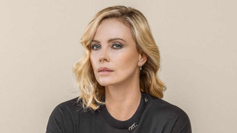 South African celebrity Charlize Theron