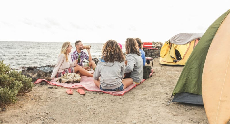 Why You Should Go Beach Camping on Your Next Summer Vacay & Where to Go
