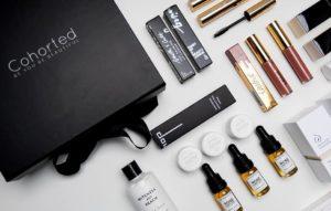 Cohorted's luxury beauty subscription box