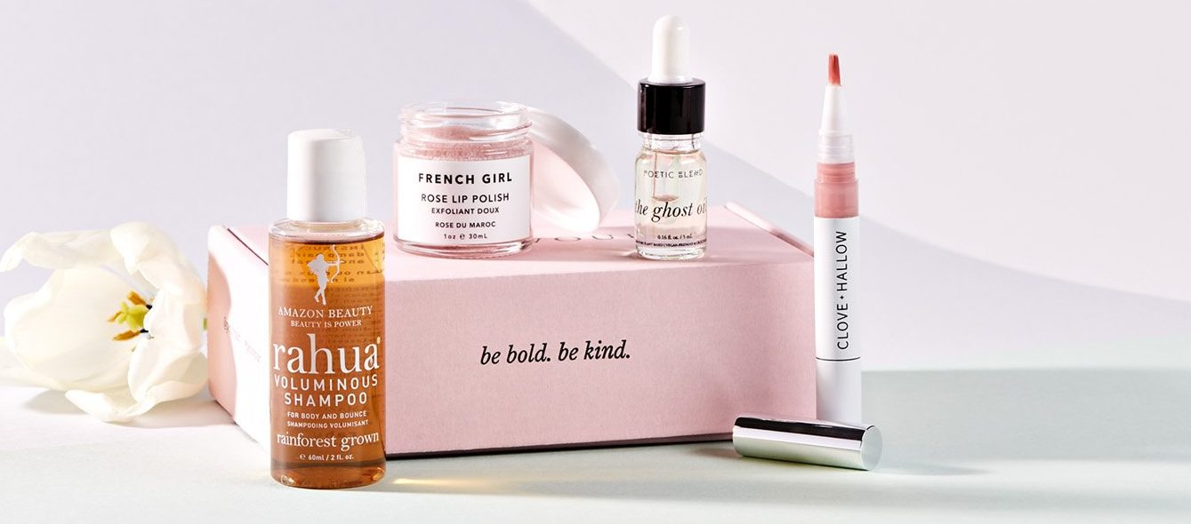 One of Petit Vour's beauty subscription boxes