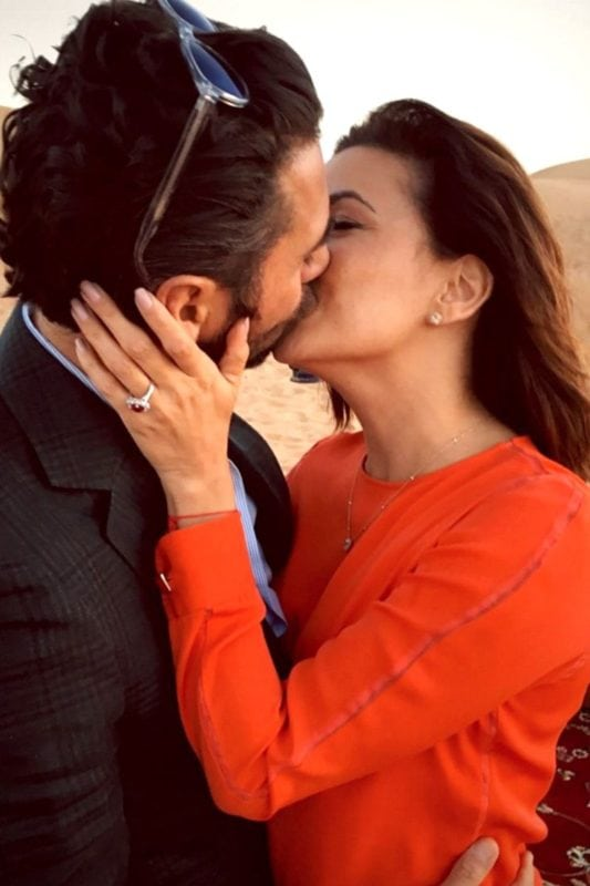 Celebrity engagement rings: Eva Longoria