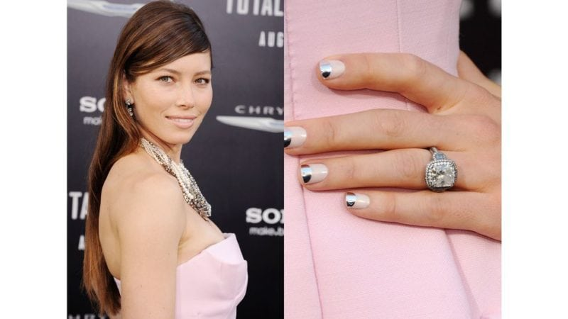 celebrity engagement rings: Jessica Biehl