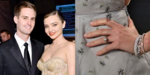Celebrity engagement rings: Miranda Kerr