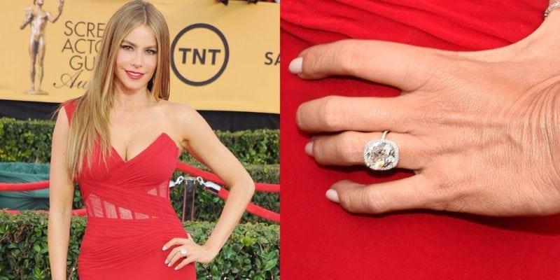 """Celebrity engagement rings: Sophia Vergara """"width ="""" 800 """"height ="""" 400"""